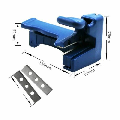 Edge Banding Machine Trimming Device Block Wood Double Edge Head Tail Trimmer