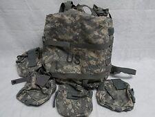 USGI ARMY ISSUE MOLLE II MEDIC BAG ACU DIGITAL MEDICAL BACKPACK W/ POUCHES EMPTY
