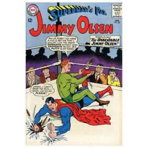 Superman-039-s-Pal-Jimmy-Olsen-1954-series-82-in-F-minus-cond-DC-comics-6d