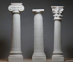 Image Is Loading Set 3 Columns Pillars Ionic Doric Corinthian Order