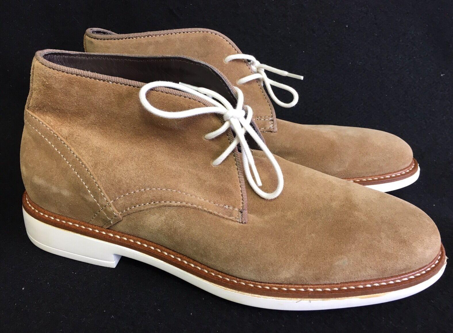Wallin & Bros Roseto MSRoseto Chukka Suede Ankle Boot size 40 / 7 M US Chestnut