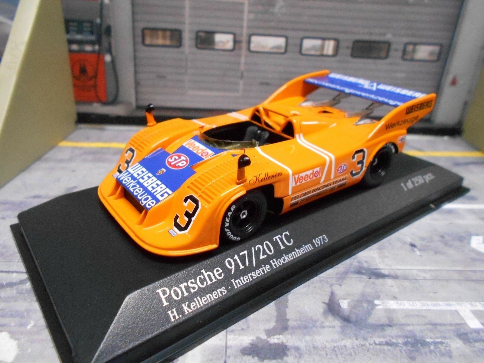 PORSCHE 917 20 917 20 INTERSERIE 1973 Kelleners Weisberg champs MINICHAMPS 1 43