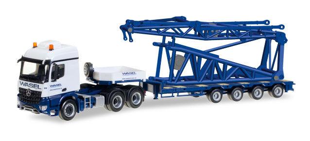 HER307253 - Camion 6x4 MERCEDES BENZ Arocs S SZ 6x4 Wasel transport et semi 4 es