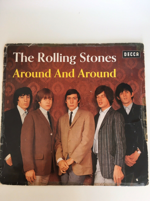 LP, The rolling Stones , Around and Around, Rock, Lp fra…