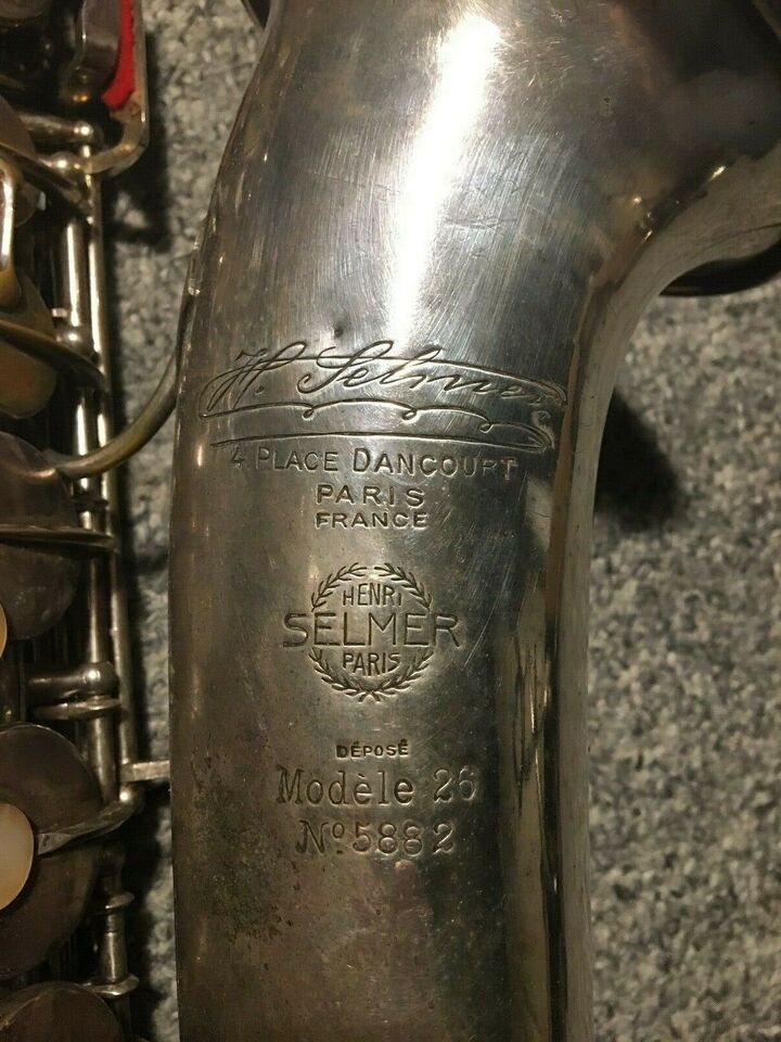 Saxofon, Selmer 26 altsax