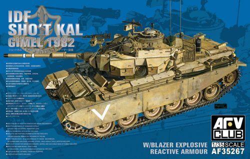 AFV Club 1  35 IDF Centurion Sho't Kal Gimel 1982 w   Blazer Explosive Reactive Ar