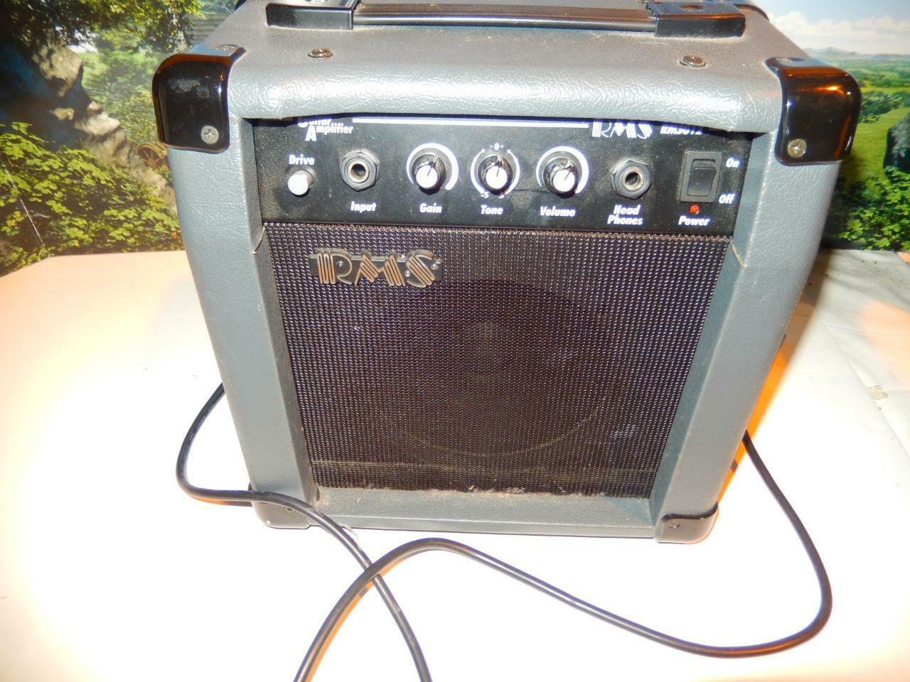 RMS G12 - 12 WATT GUITAR AMPLIFIER-  EXC CONDITION