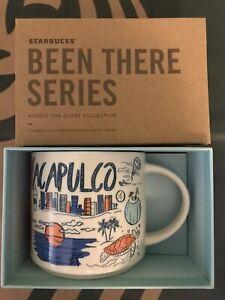 Starbucks Coffee Been There Series 14oz Mug ACAPULCO Mexico Cup w/SKU