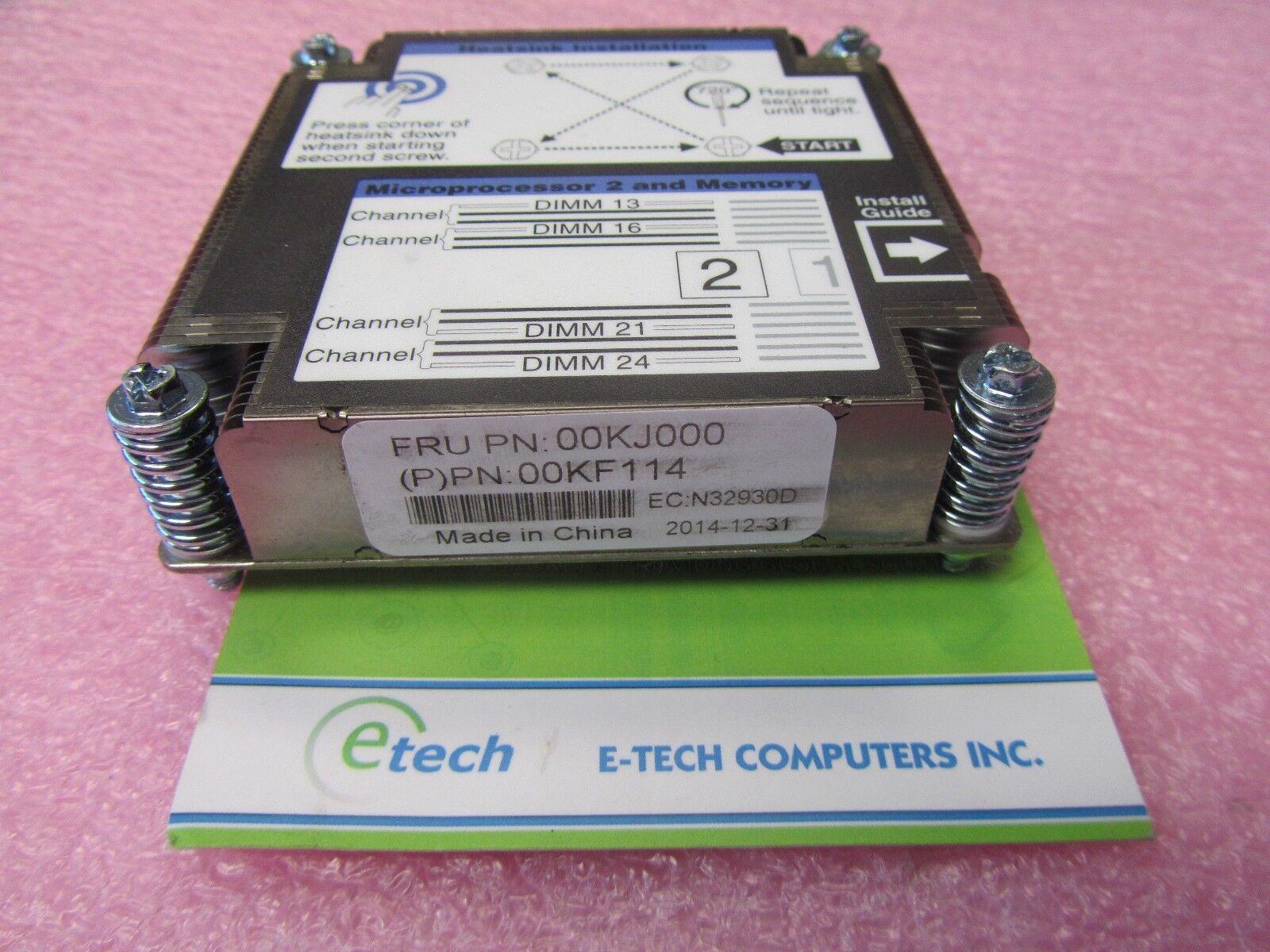 00KJ000 - IBM Lenovo Flex System x240 M5 CPU 2 Heatsink, 135W TDP