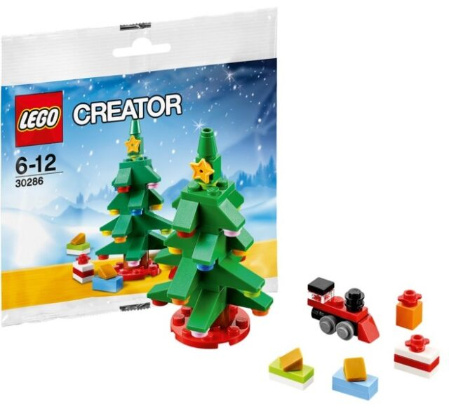Lego Christmas Tree Set 30286 Polybag Promo Creator Santa