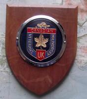 c1950  Vintage Car Mascot Badge British Army  - Canadians Veterans Association