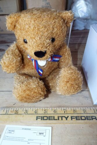 Stuffed Bear in Original Box Collectible Medium Beverly Hills Teddy Bear