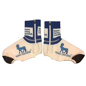 Bleu Nouveau Homme 2017 Craft Team Novo Nordisk EBC Hiver Couvre-Chaussures Taille S//M