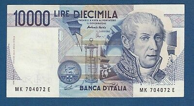 Italy banknote 10000 lire year 1984 Alessandro Volta free shipping