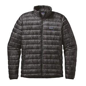 Patagonia-Men-039-s-Down-Sweater-Jacket-Forestland-Black-FOBK-L-Large