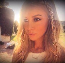 Beautiful Hair Rings / Accessories - 12 Pc As Seen On Lauren Pope!! Xx