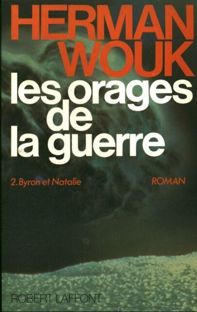 Livre Les Orages De La Guerre Herman Wouk Tome 2 Byron Et Natalie Book Ebay