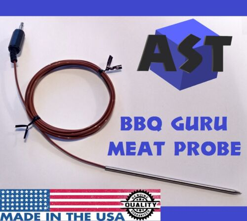 BBQ Guru Compatible 10/' Meat Food Probe Grill Smoker PartyQ DigiQ CyberQ NanoQ