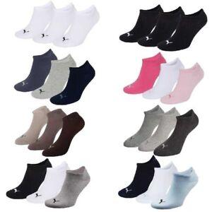 3-Paar-Puma-Sneaker-Invisible-Socken-Gr-35-49-Unisex-fuer-Damen-Herren-Fuessling