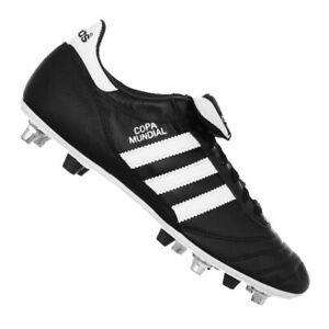 Détails sur Adidas Copa Mundial Mixed FG + SG noir blanc afficher le titre d'origine