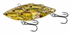 Live-Target-Yearling-Baitball-2-5-034-Pearl-Olive-Shad-5-8-oz-Fishing-Lure