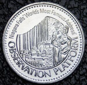 1983 NIAGARA FALLS - World's Most Famous Address - Trade Dollar