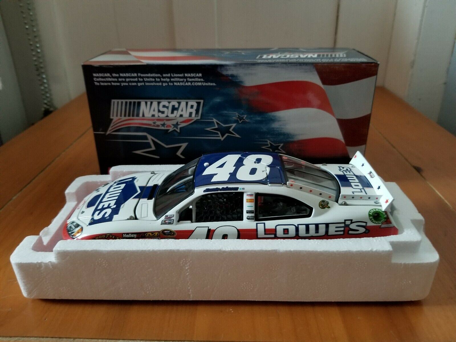 2012 Jimmie Johnson Lowes NASCAR Unites 1 24 CWC Lowe's