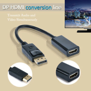 Display-Port-DP-Male-to-HDMI-Female-Converter-Adapter-Cable-Wire-For-Laptop-TV