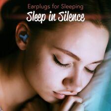 2 Pack Ear Plugs Noise Isolating Blocking Earplugs Reusable Siliconeblue
