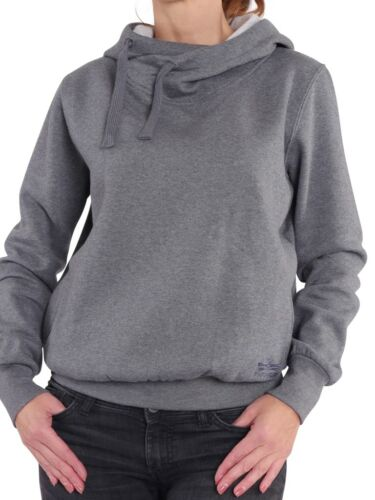 FINCHGIRL Hoodie F Damen flauschig warm Pullover Kapuzen-Sweatshirt Hoody Pulli