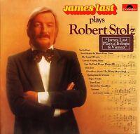 JAMES LAST plays robert stolz 2371 768 uk polydor 1977 LP PS EX+/EX