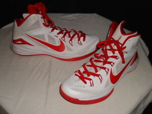b193415b1e73 Image is loading NIKE-HYPERDUNK-2014-TB-LUNARLON-WHITE-RED-BASKETBALL-
