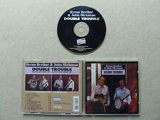 Byron Berline & John Hickman Double Trouble Bluegrass CD 1995 Sugar H # SHCD3750