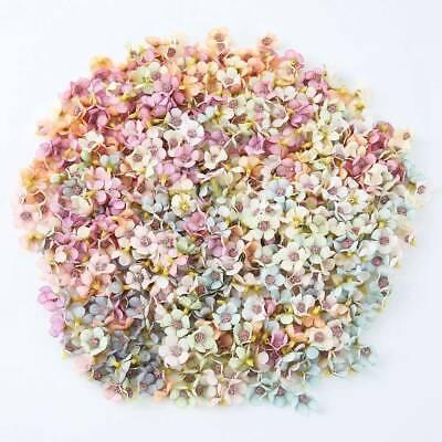 Artificial Flower Mini Daisy Head Silk Multicolor Decor Wedding Party 50//100pcs