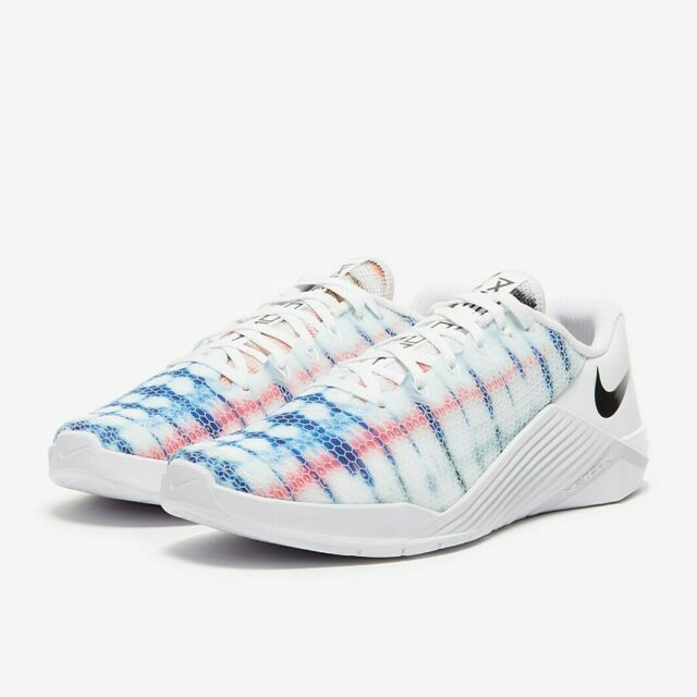 Nike Metcon 5 Mens Size 12 Cross Training Shoes AQ1189 100 White Multicolor