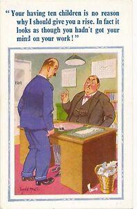 POSTCARD   COMIC   DONALD  McGILL  D CONSTANCE Series  No 1968