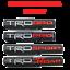 thumbnail 1 - 2X TRD PRO/OFF ROAD/BRO/SPORT Door Emblem Sticker Badge For Toyota Tacoma OEM