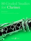 80 Graded Studies for Clarinet: Bk. 2 by John Davies, Paul Harris (Paperback, 2000)