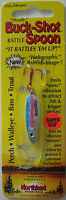 Northland Tackle Buck-shot® Rattle Spoon - 1/4 Oz. - Glow Rainbow