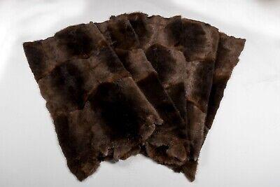 1945 Castori Lavagne In Vera Pelliccia Pelo Pelliccia   Beaver Skins Plates Genuine Per Body-mostra Il Titolo Originale