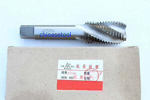 M2.5x 0.45 1pc Metric Right Spiral Flute Tap - H2 HSS Threading Tools 2.5mm