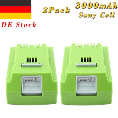 Creabest 3.0AH 24V Lithium Akku für GreenWorks G-24 24V 29842 29852 29322 G24B2