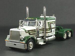 1-64-DCP-GREEN-WHITE-PETERBILT-379-63-034-FLATTP-SLEEPER