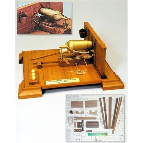 Mantua Models French Carronade 1 17 Scale Historical Model Kit