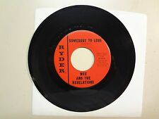 """WEE AND THE REVELATIONS:Somebody To Love 2:40-Ooo Baby Baby-U.S. 7"""" Ryder R-101"""