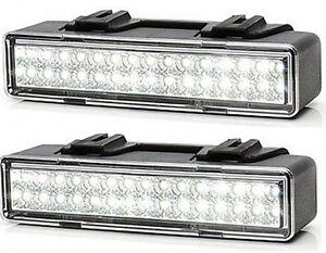 2 x led r ckfahrscheinwerfer r ckfahrlicht 12 24v leuchte anh nger pkw lkw 749 ebay. Black Bedroom Furniture Sets. Home Design Ideas
