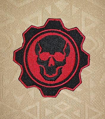 Gears of War Iron-on/ Sew-on Embroidered Patch / Badge/ Logo