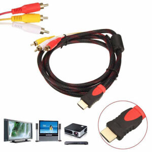 1-5m-HDMI-Male-to-3-RCA-Video-Audio-Converter-Component-AV-Adapter-Cable-HDTV