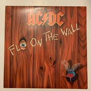 AC-DC-Fly-on-The-Wall-1985-Vinyl-LP-Condition-VG