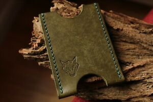 Card-Holder-Handmade-With-Italian-Leather-Colour-Dark-Green